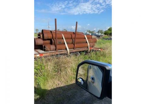 Big, Sturdy Steel Pipe