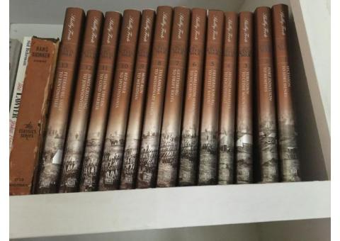 Time Life Books The Civil War by Shelby Foote Volume 1 - 13 Set